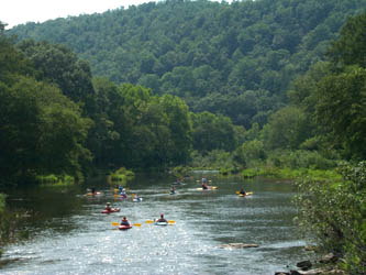 Bon Canoe, Kayak, And Inner Tube Rentals Are Available For Those Wishing To  Experience The Crystal Clear Waters Of The Lower Mountain Fork River.